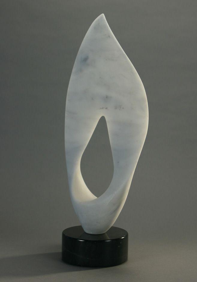 T Barny, Voile Italian Marble 19x10x3 #tbarny #sculpture #art
