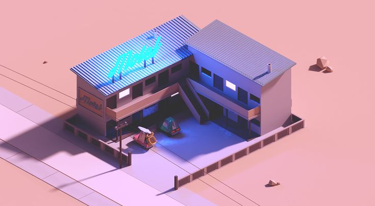 Isometric adventure on Behance