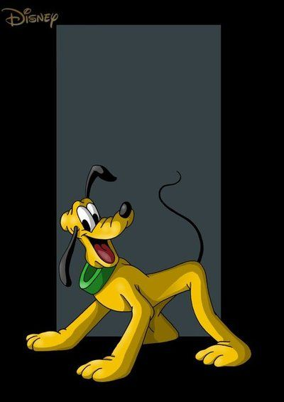Pluto #Disney                                                                                                                                                                                 More