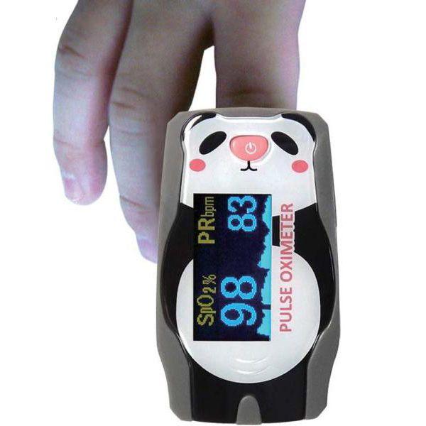 Ortopedias Mas Vida - Medicina, Oximetro de pulso pediatrico oxy Panda cod.3575