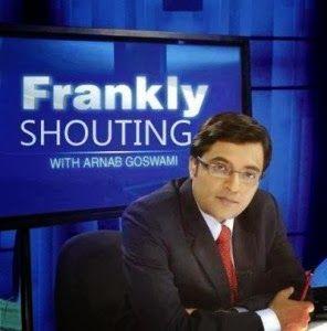 confront : Arnab Goswami : No.1 Item Boy of Hinglish Media