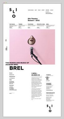 Layout Inspiration Search Results — Designspiration