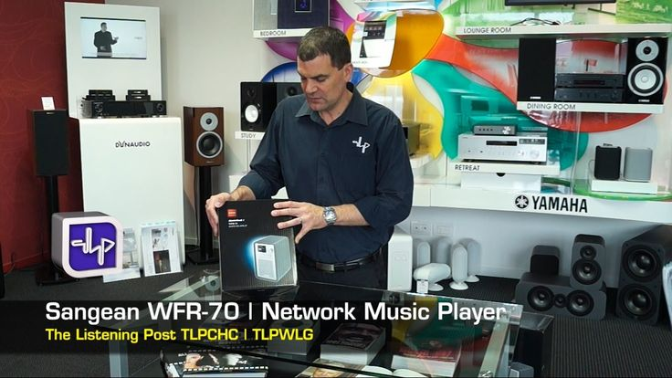 Sangean WFR70 Network Radio + SP40 | The Listening Post | TLPCHC TLPWLG