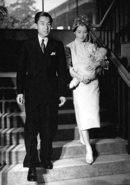Japan's Crown Prince Akihito and Crown Princess Michiko 1960