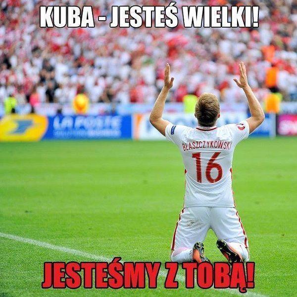 Kuba jesteś wielki! Jesteśmy z Tobą Kuba! • Memy piłkarskie po meczu Polska Portugalia - Euro 2016 • Wejdź i zobacz więcej na FF >> #pol #polska #memy #pilkanozna