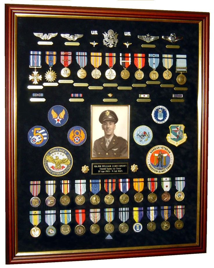 My dad 39 s air force decorations commemorative medals for Air force decoration
