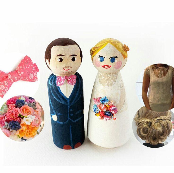 Voici un nouveau couple de figurines totalement personnalisées.