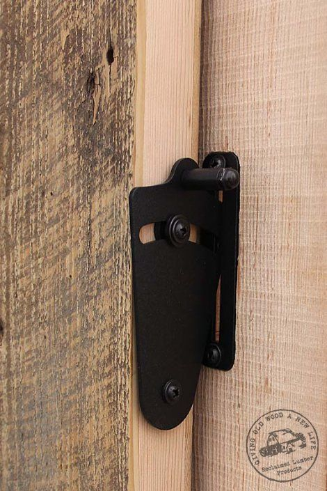 Barn door privacy lock bathroom pinterest privacy - Installing a lock on a bedroom door ...
