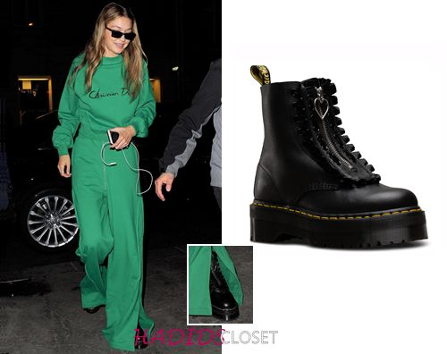 Dr Martens x Lazy Oaf Jungle Boots. They add so much edge to any ensemble! You can find them on drmartens.com for $220