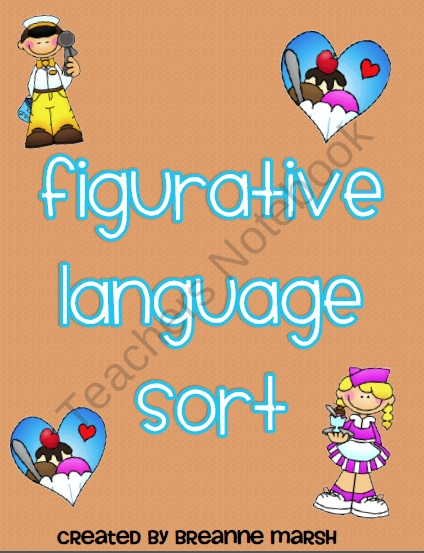 Figurative Language Activity Packet product from Ms-Third-Grade on TeachersNotebook.com
