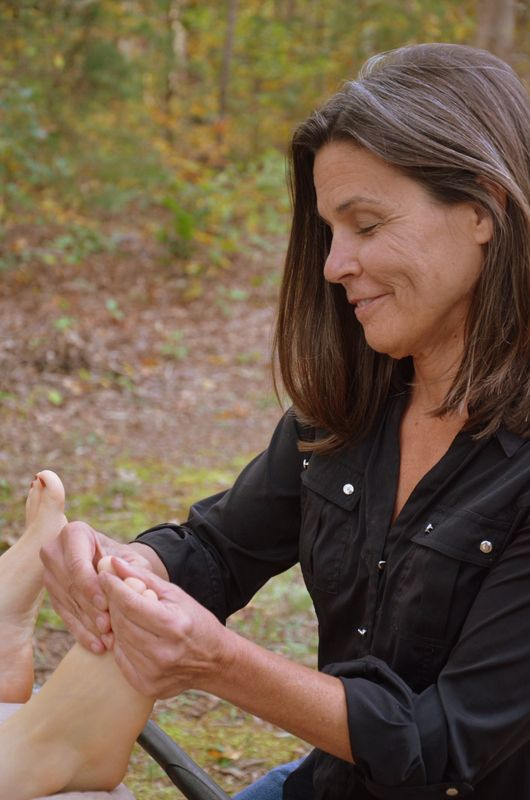 Reflexology makes you feel so relaxed. You don't want it to end.