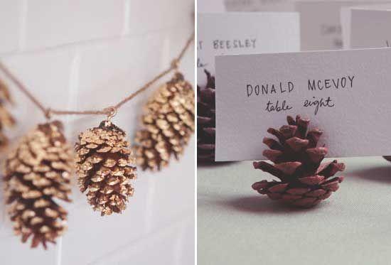 Wil je aan de slag met een dennenappel DIY voor je bruiloft? Wij hebben twee hele leuke ideetjes voor je!