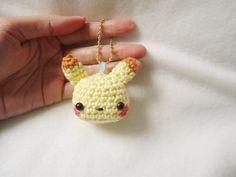 pikachu free crochet pattern