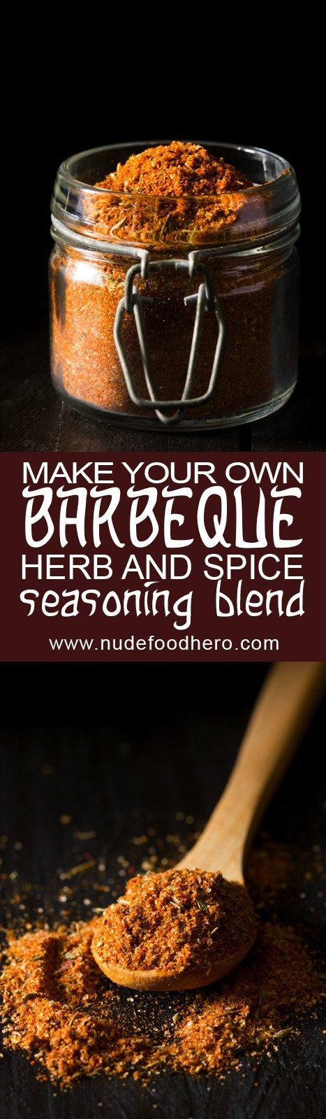 Step up you DIY BBQ food game by making your very own BBQ herb and spice blend - super easy to make and super delicious too!