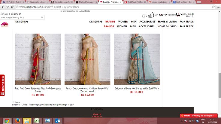 Buy the Wedding Wows Collection by Priti Sahni on Indianroots.in  http://www.indianroots.in/brands/m-q/pret-i-by-priti-sahni