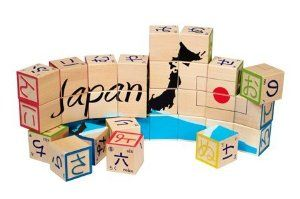 Uncle Goose Japanese Character Blocks (32 pcs) by Uncle Goose. $44.95. Each block features the Katakana equivalent, ?numbers, and animals with their English translation. This set is made from sustainable Michigan basswood, and is perfect for the little ?Japanese learner in your dojo. Made in the USA. You don't have to speak the language to appreciate the elegance and beauty of the Japanese characters. This 32 block set includes a puzzle with the map of Japan, and ...