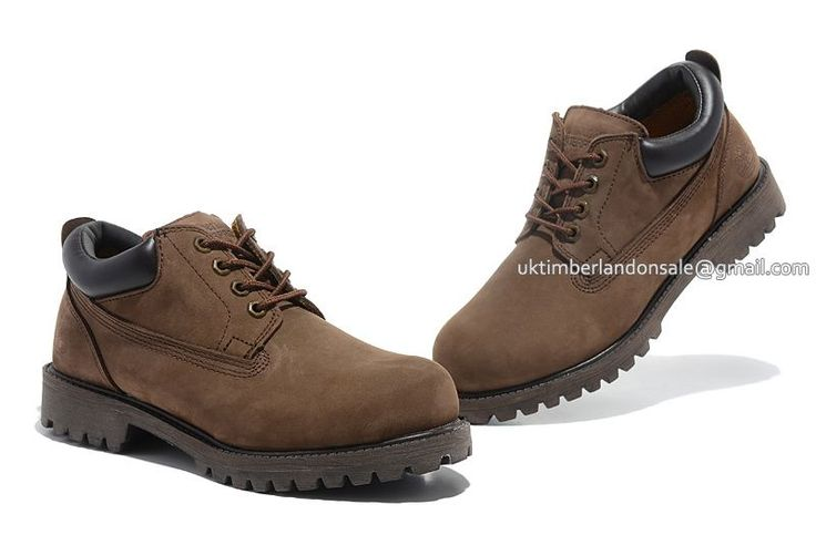 Timberland Chukka Boots For Men Waterproof Oxford - Brown $ 80.00