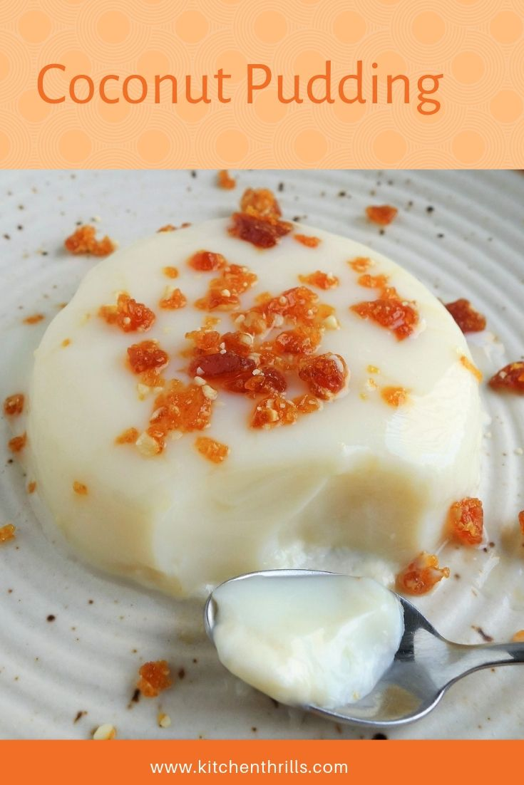 Coconut Pudding Recipe Milk Recipes Dessert Condensed Milk Recipes Desserts Refreshing Desserts