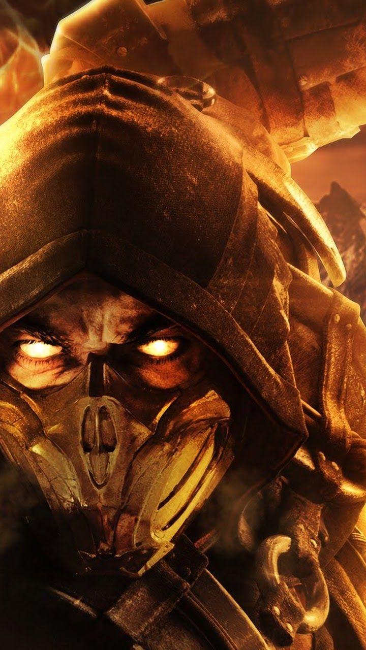 Scorpion Mortal Kombat 11 Mortal Combate Desenho Fotos Coringa