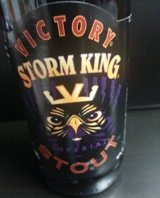 "Craft Beer Cellar - STORM KING STOUT Style:	Russian Imperial Stout ABV:	9.1% Brewery:	Victory Brewing Company  (Downingtown, PA United States) Description:	Don't underestimate the power of the Storm King! A ""thundering"" amount of hops add a complimenting aroma to the deluge of rich, roasted, and dark malts. A heavy body, with espresso notes and a big ABV that could hit you lightening quick."
