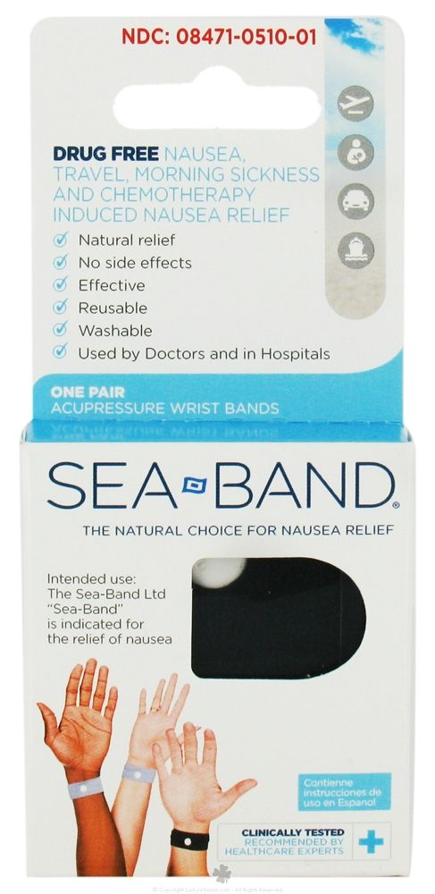 Acupressure Wrist Bands for Morning Sickness & Travel ...