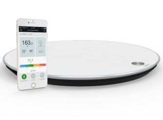 QardioBase Smart Scale- is one of the best-looking bathroom scales for your home, and one of the smartest, with excellent features and an app that tracks much more than just your weight.