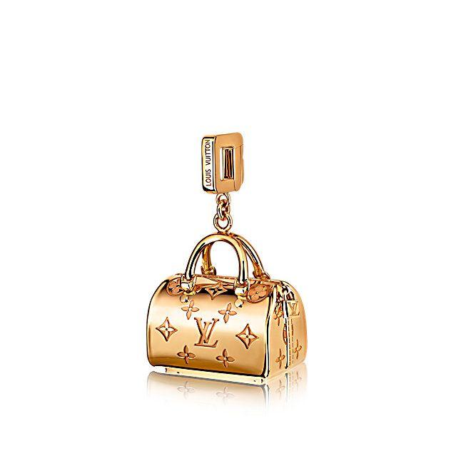 Подвеска Speedy из коллекции Empreinte, жёлтое золото - Ювелирные изделия - Подвески-шармы | LOUIS VUITTON
