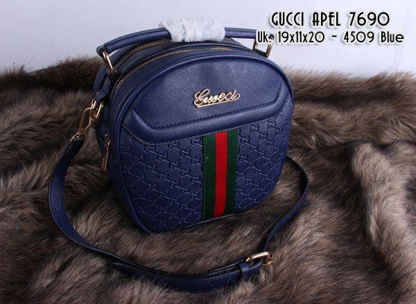 Tas Gucci Apel warna Blue