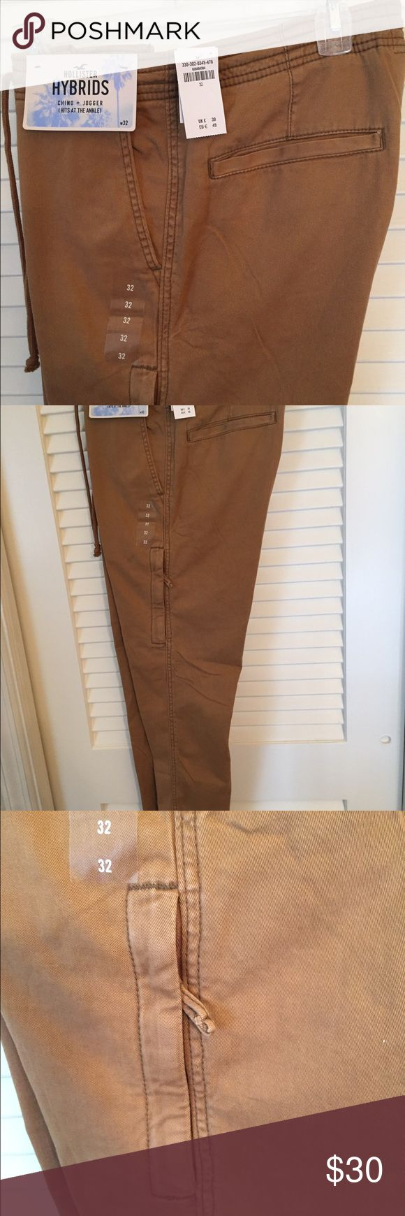 New Men's Hollister Chino Joggers New with tags Men's Chino Joggers. Hollister Pants Chinos & Khakis