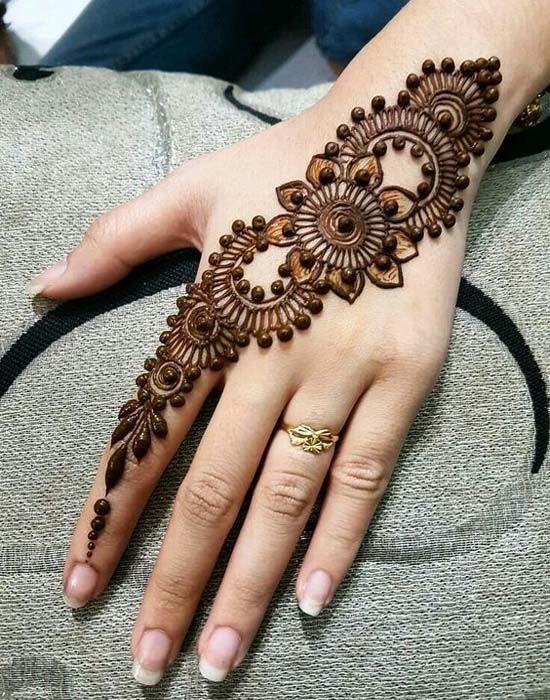 a8800da92d Stylish Glitter Mehndi Designs Trends Collection 2018-2019 | Henna ...