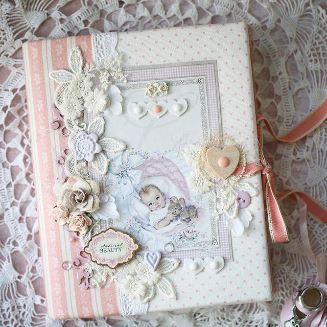 ScrapTherapy by Evgenia Petzer: Блокноты-альбомчики для девочки и мальчика и *Maja Design*