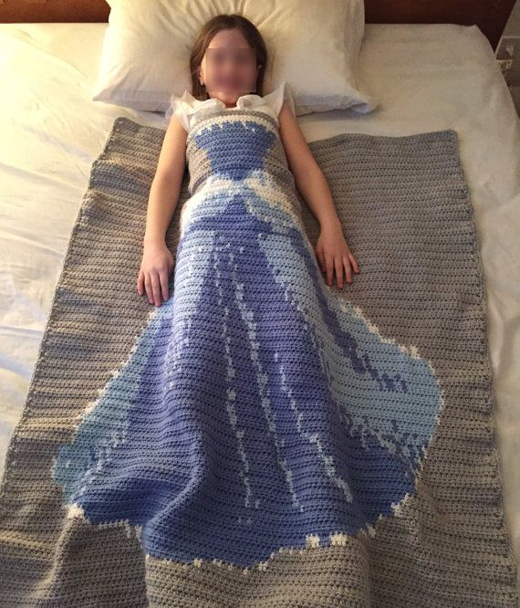 Sleep Like A Princess  Cinderella Blanket by TheWhimsofaDragonfly