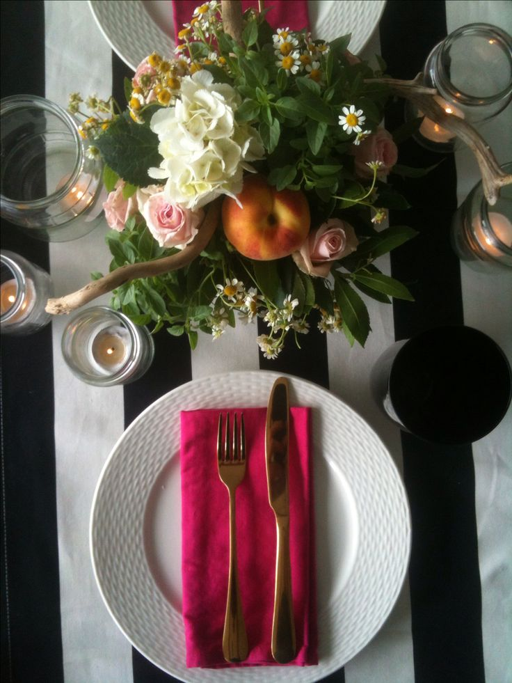 Tablescape  Tablesetting Villa F
