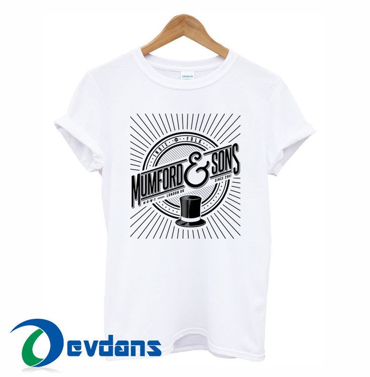 Mumford & Sons T-shirt men and women adult unisex size S to 3XL