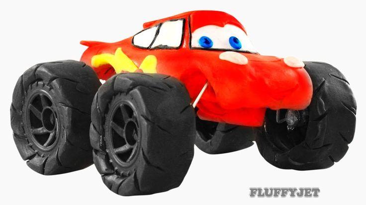 Lightning McQueen Monster Truck - Video For Kids