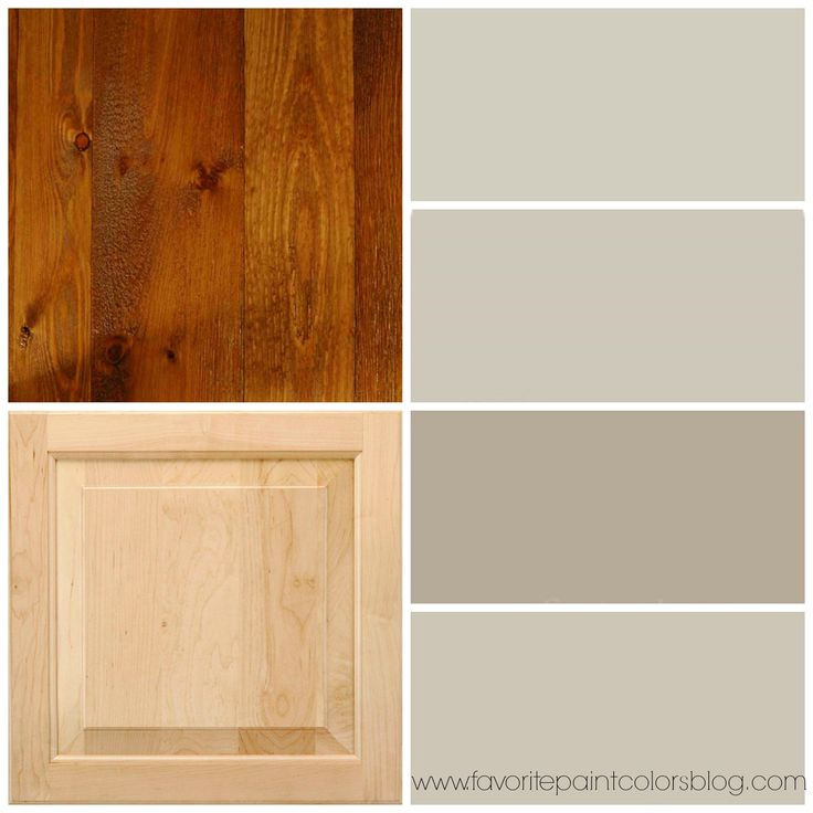 Best Paint For Pine Kitchen Cupboards: Greige Paint Colors To Go With Wood Trim And Cabinets