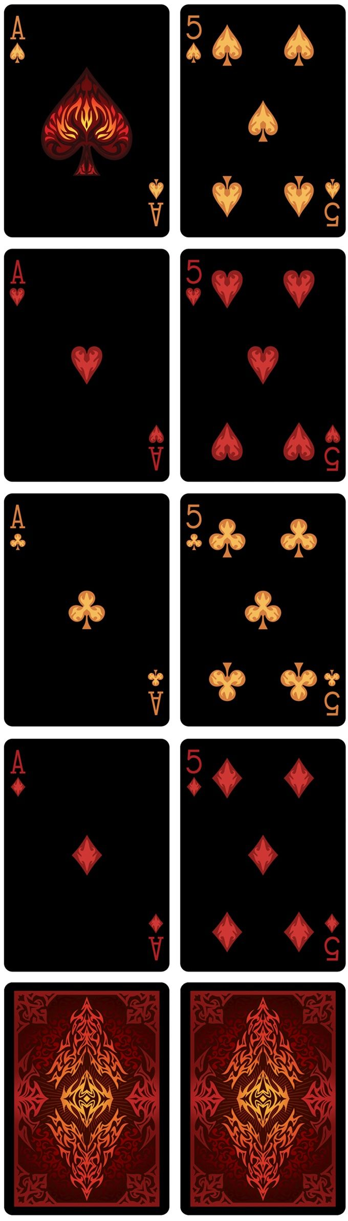 """Bicycle Natural Disasters """"Volcano"""" Playing Cards by Collectable Playing Cards — Kickstarter"""