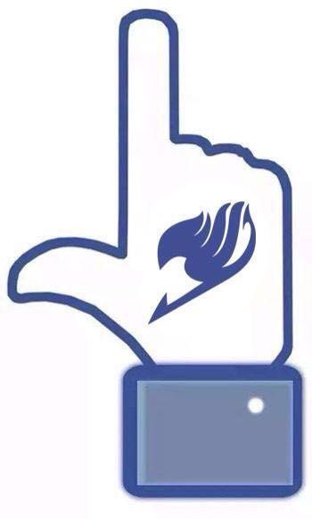 Fairy Tail's new symbol. Fairy Tail Facebook Like