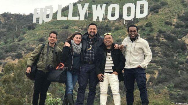 Trio Pacenogei bawa Papua ke Los Angeles