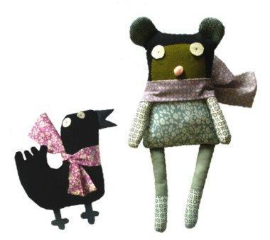 ebabee likes:La Sardine Make your own soft toy kit
