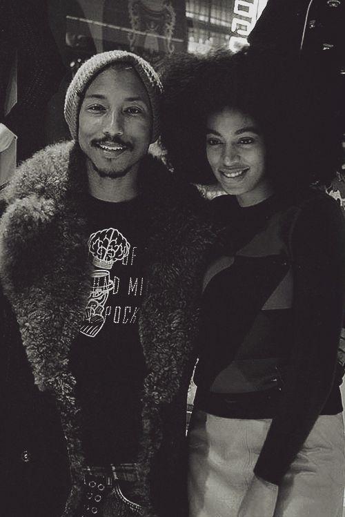 Pharrell and Solange