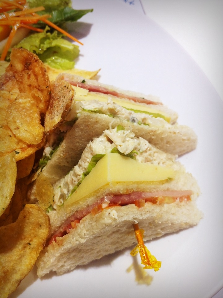 Clubhouse Sandwich @ French Baker