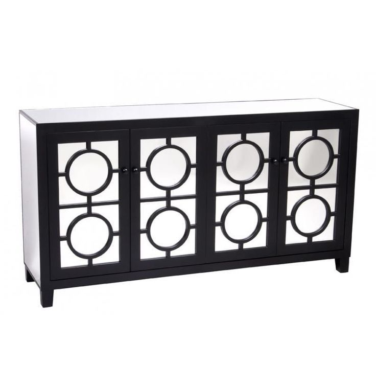 mirrored buffet sideboard mirrored buffet sideboard or tv unit all mirror wooden 4 4157