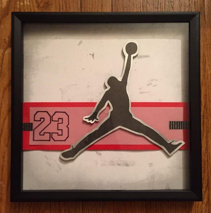 Najarian Nba Youth Bedroom In A Box: 58 Best Air Jordan Wall Art Deco Room Ideas Basketball
