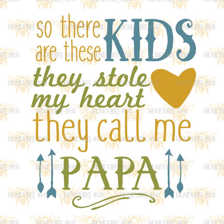 Kids Who Call Me Papa svg Fathers Day svg Papa quote svg Fathers Day gift svg Silhouette svg Cricut svg eps dxf jpg Father svg Grandpa by HoneybeeSVG on Etsy