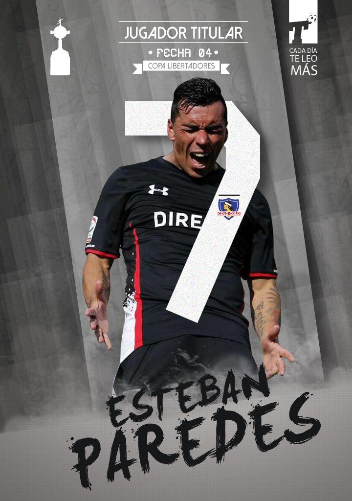 Pasó una nueva jornada de la Libertadores para los chilenos y, tras lograr su 12° gol en 12 PJ en el torneo, Esteban Paredes se convirtió en el #JugadorTitular de la fecha. ¡Súmate con un Like si estás de acuerdo!  www.titular.cl