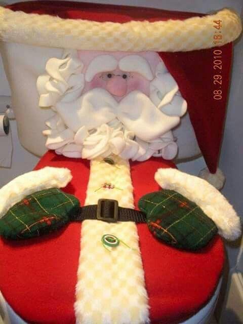 Jogo de banheiro - Papai Noel