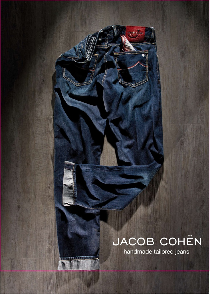 Jacob Cohen Ad #JacobCohen #Ad #TailoredJeans #Denim