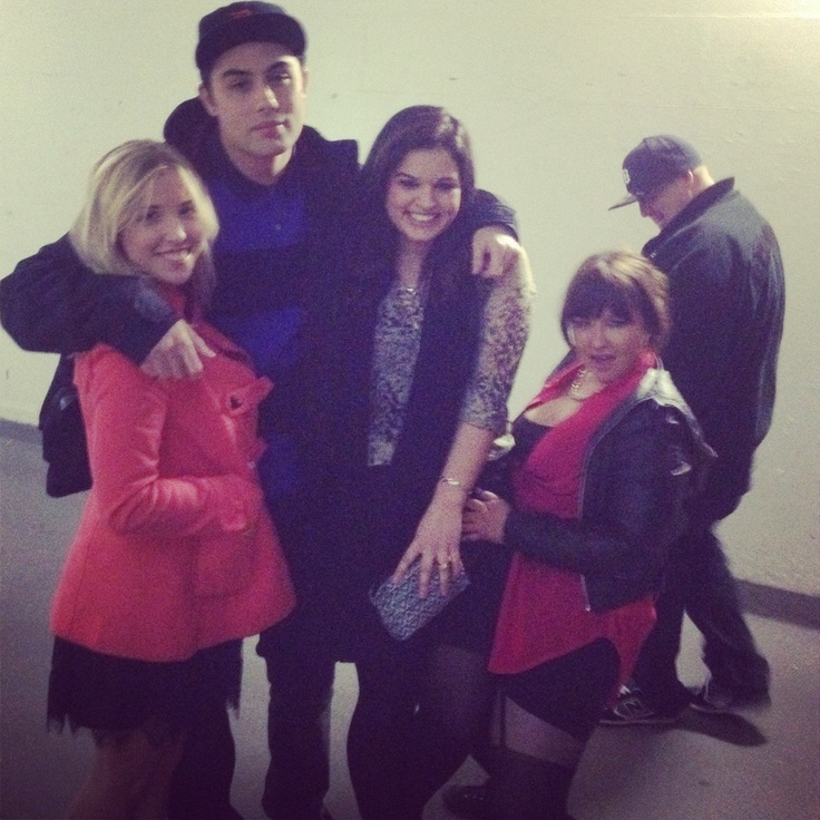 David Dallas Nadine, Lilly and I getting to know one another woop