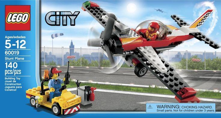 LEGO City Stunt Plane 60019 - Discount Toys USA